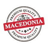 Robić w Macedonia, premii ilości printable sztandar, majcher/ Obraz Royalty Free