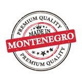 Robić w Montenengro, premii ilości grunge printable majcher Obrazy Stock
