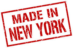 Robić w Nowy Jork ilustracji