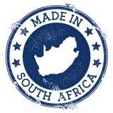 Robić w Południowa Afryka znaczku ilustracja wektor