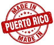 Robić w Puerto Rico znaczku ilustracji
