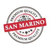Robić w San Marino, premii ilości grunge printable majcher Obrazy Stock