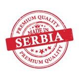 Robić w Serbia, premii ilości grunge printable majcher Zdjęcia Royalty Free