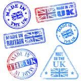 Robić W UK znaczkach ilustracji