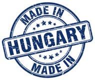 Robić w Węgry znaczku ilustracja wektor