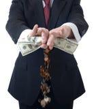 Robić więcej pieniądze zdjęcia stock