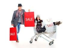 Robić zakupy obrazy stock