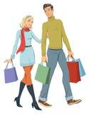 Robić zakupy ilustracji