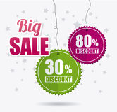 Robić zakupy specjalne oferty, rabaty i promocje, ilustracji