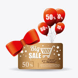 Robić zakupy specjalne oferty, rabaty i promocje, royalty ilustracja