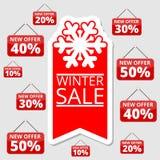 Robić zakupy specjalne oferty, rabaty i promocje, boże narodzenie sprzedaż ilustracji