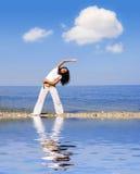robi ćwiczenie fitness piękne kobiety fizycznej młodych Fotografia Royalty Free
