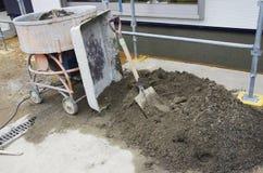 Robić betonowi Zdjęcia Royalty Free