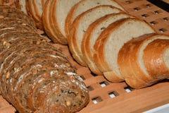 Robić croissant i chleb Obrazy Stock