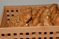 Robić croissant i chleb Zdjęcie Stock