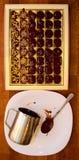 Robić czekoladzie w domu Zdjęcia Royalty Free
