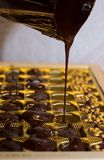 Robić czekoladzie w domu Obrazy Royalty Free