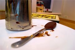 Robić czekoladzie w domu Fotografia Royalty Free