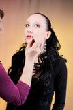 robić dziewczyny makeup obraz royalty free