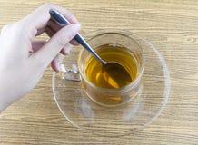 Robić herbaty Obrazy Royalty Free