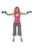 robi kobiety ćwiczenie sprawność fizyczna Obrazy Royalty Free