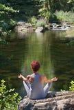 robić kobiety joga Fotografia Royalty Free