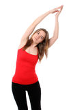 robić kobiety joga Obrazy Royalty Free