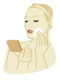 robić makeup kobiety obrazy royalty free