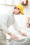 robi pizzy piekarniany ciasto Fotografia Royalty Free