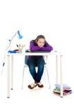 Robić pracie domowej Zdjęcie Stock