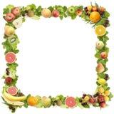 robić ramowe owoc Obrazy Royalty Free