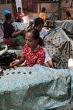 Robi Tradycyjnemu płótnu dzwoniącemu Batik Obraz Stock