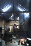 Robi Tradycyjnemu płótnu dzwoniącemu Batik Zdjęcia Stock