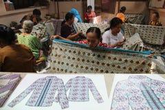 Robi Tradycyjnemu płótnu dzwoniącemu Batik Obrazy Royalty Free
