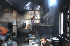 Robi Tradycyjnemu płótnu dzwoniącemu Batik Fotografia Stock