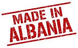 Robić w Albania znaczku Obrazy Stock