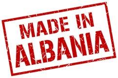 Robić w Albania znaczku Fotografia Stock