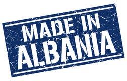 Robić w Albania znaczku Obraz Royalty Free