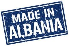 Robić w Albania znaczku Fotografia Royalty Free