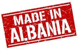 Robić w Albania znaczku Obraz Stock