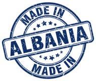 Robić w Albania znaczku Zdjęcia Stock
