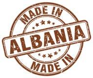 Robić w Albania znaczku Zdjęcie Royalty Free