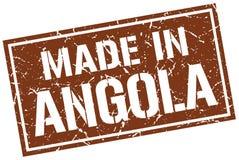 robić w Angola znaczku Zdjęcia Stock