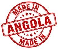 robić w Angola znaczku Zdjęcie Royalty Free