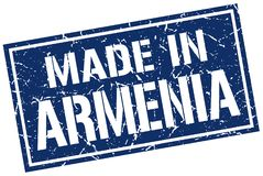 robić w Armenia znaczku ilustracja wektor