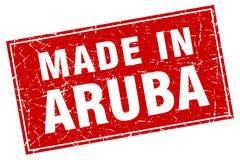 robić w Aruba znaczku ilustracja wektor
