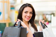 Robić zakupy dla wakacji Obraz Stock