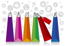 Robić zakupy projekt Zdjęcie Stock