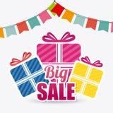 Robić zakupy specjalne oferty, rabaty i promocje, Zdjęcia Royalty Free