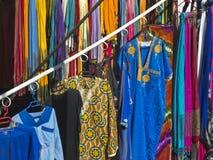 Robić zakupy w Maroko Zdjęcia Royalty Free